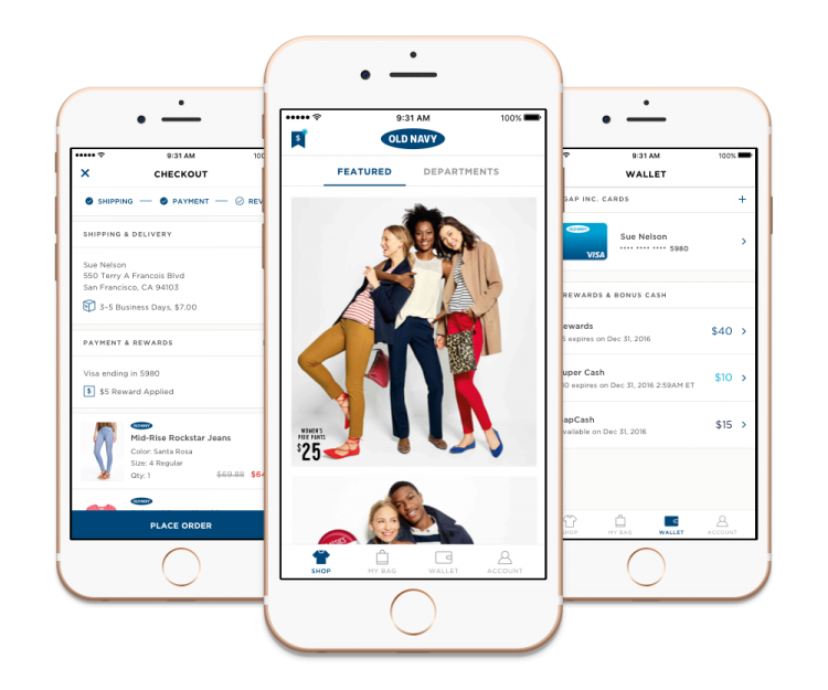 The New Old Navy App For IPhone Built By Prolific Interactive