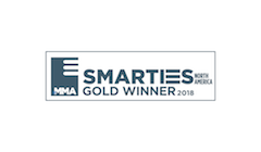 MMA Smarties Gold Award Winner Logo